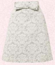 Wallis damask pattern skirt.